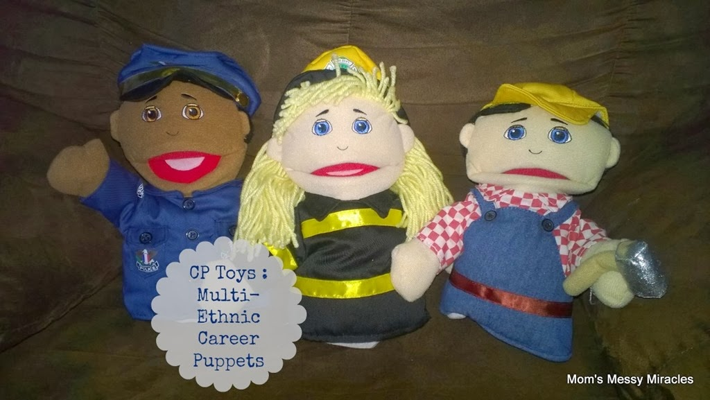 CP Toys: Multi-Ethnic Career Puppets