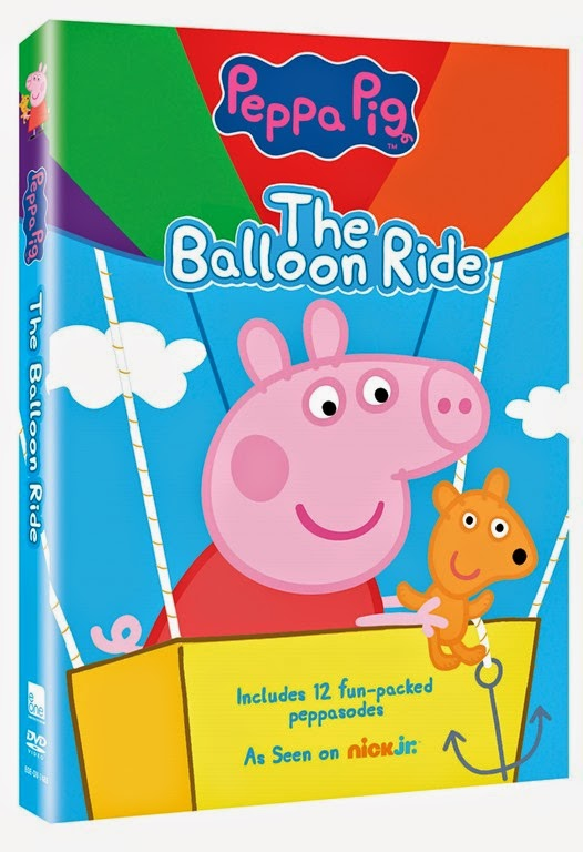 Peppa Pig: The Balloon Ride Arrives 8/12