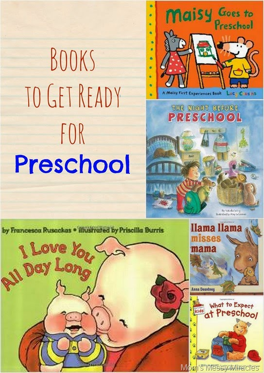 Books to Read Before Starting Preschool