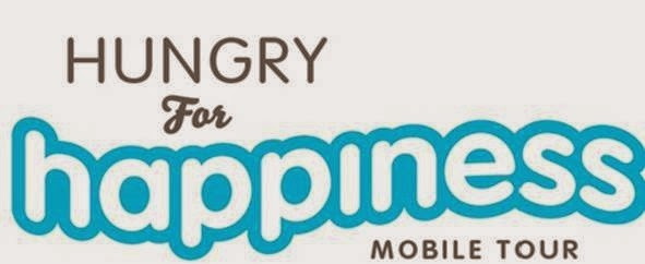 Hungry for Happiness mobile tour in Baltimore 8/20