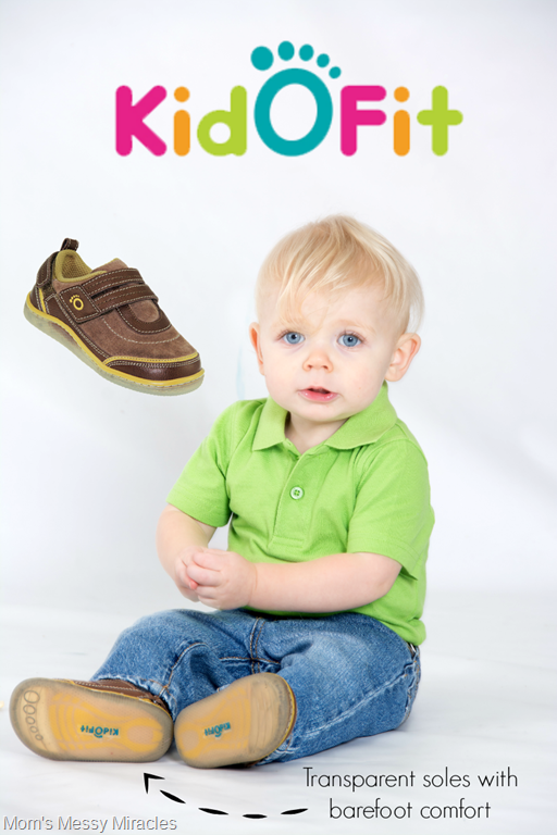 KidOFit Shoes Offer Barefoot Comfort + Giveaway