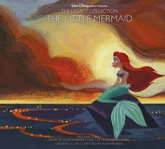 The Little Mermaid Legacy Collection CD