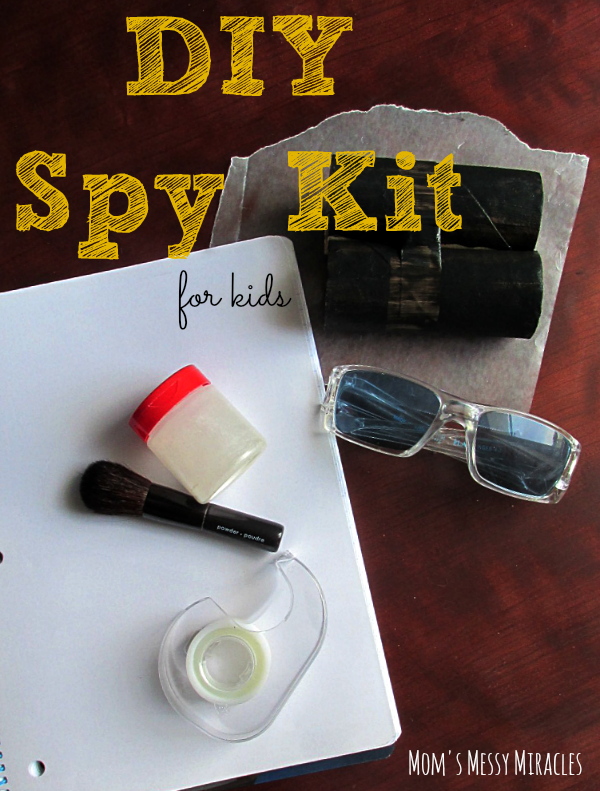 DIY Spy Kit for Kids