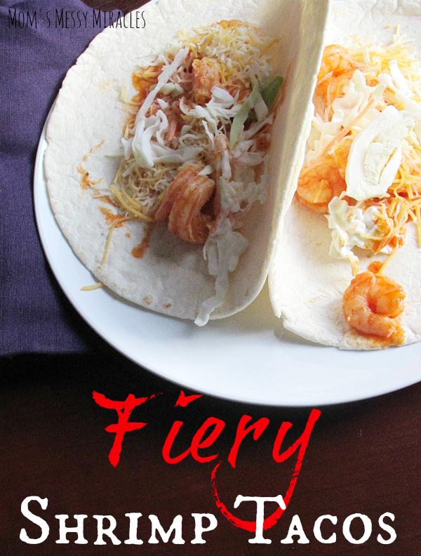 Fiery Shrimp Tacos