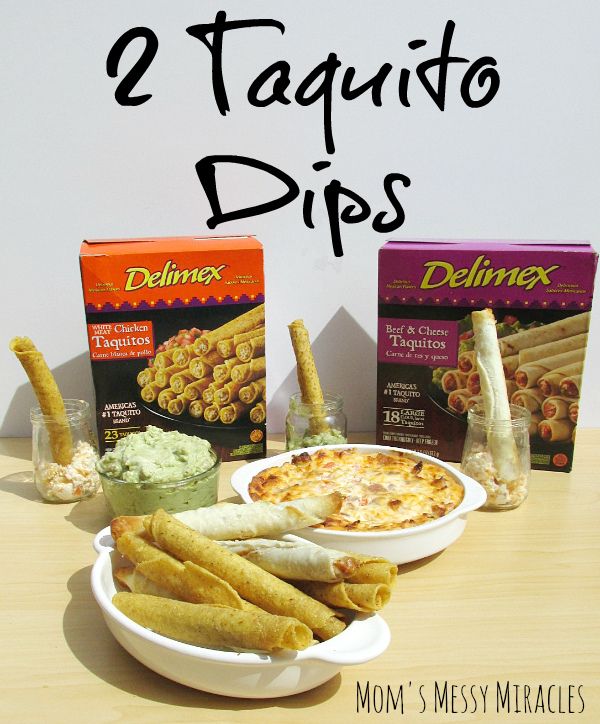 Game On with Delimex: 2 Dips & a Dessert