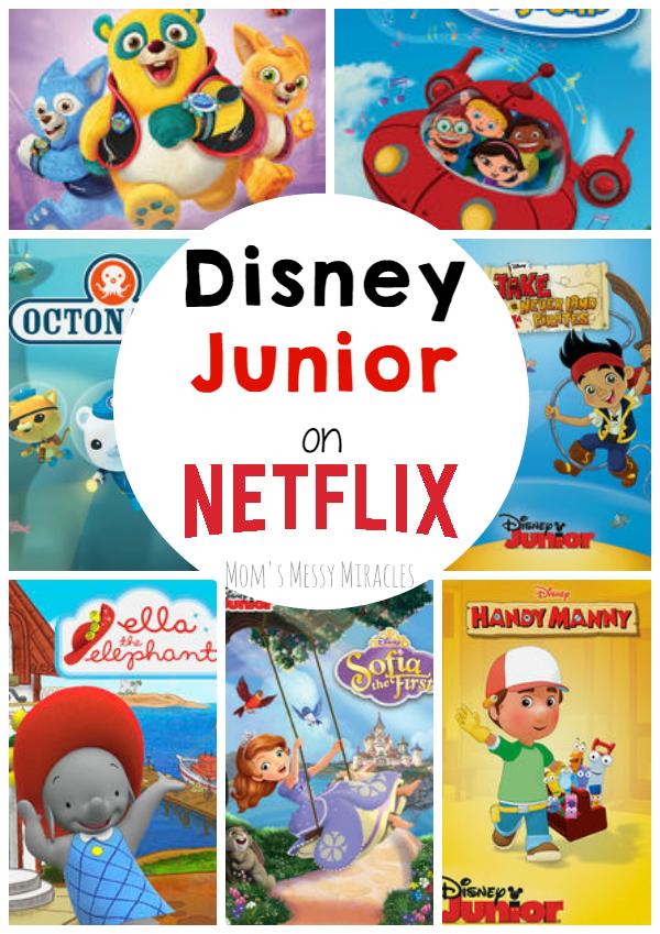 Disney Junior on Netflix
