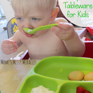 Re-Play Recycled Tableware for Kids