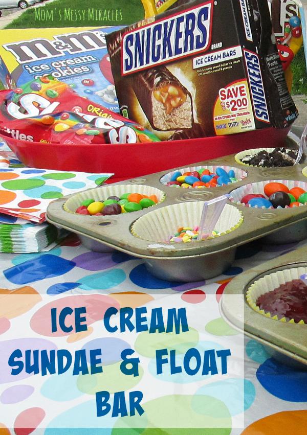 Ice Cream Sundae & Float Bar