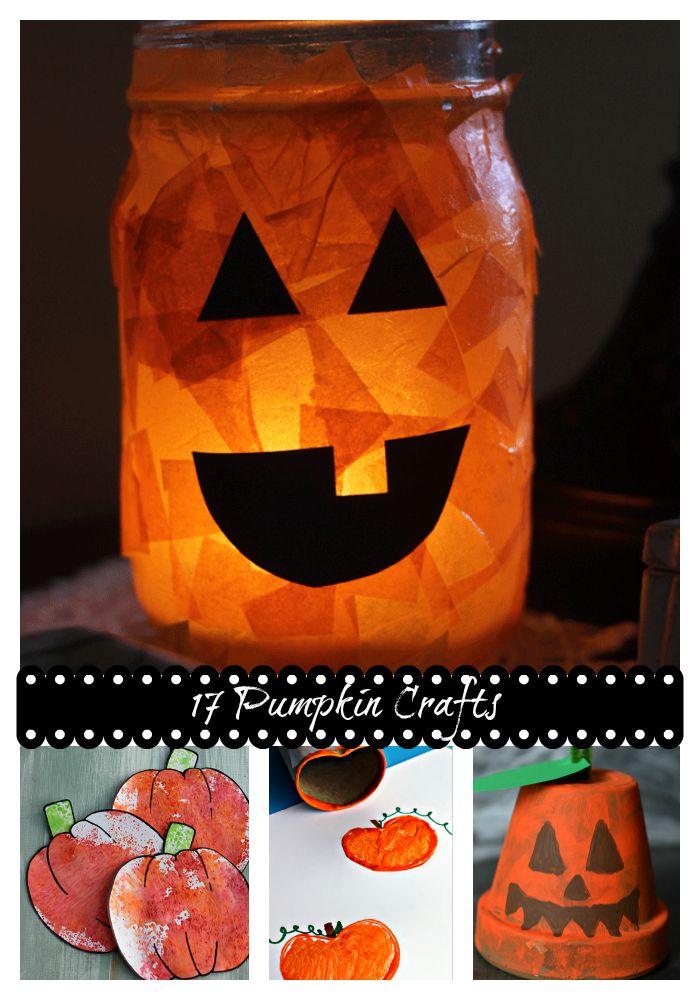 17 Pumpkin Crafts for Kids