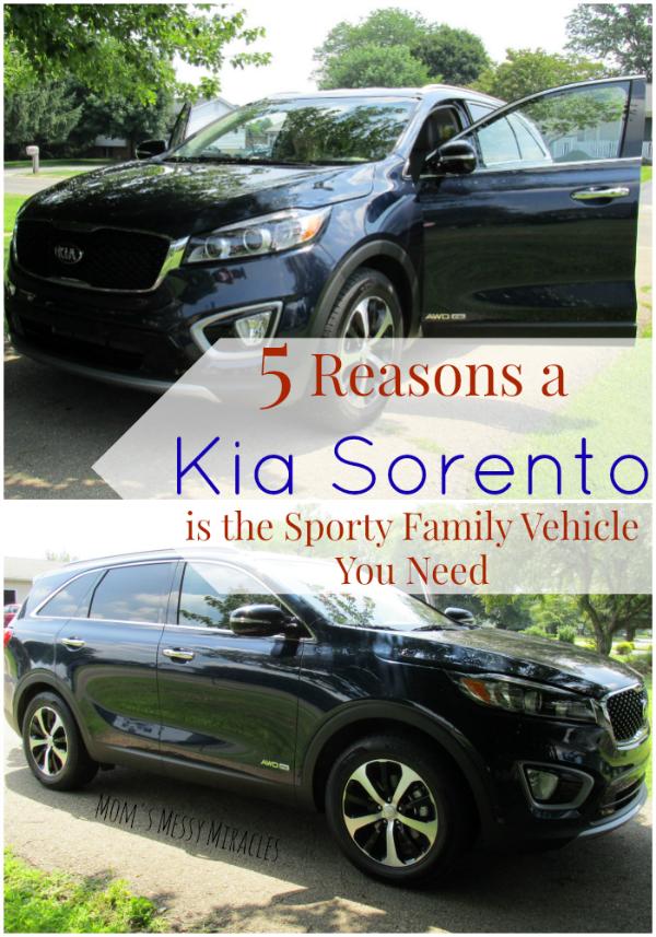 2016 Kia Sorento: The Sporty Family Vehicle You Need