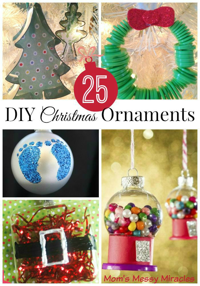 25 DIY Christmas Ornaments