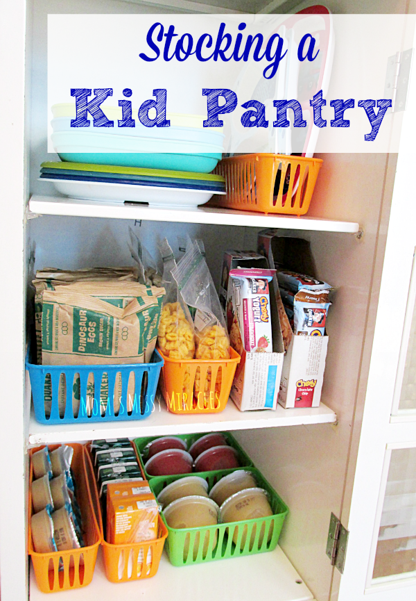 Stocking A Kid Pantry