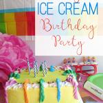 Easy Ice Cream Birthday Party