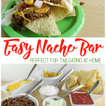 Easy Nacho Bar for Game Time