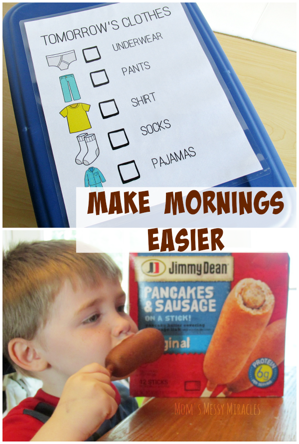 Make Mornings Easier for Back to School