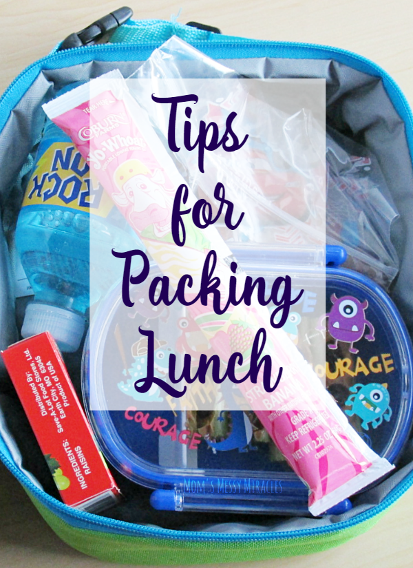 3 Tips for Packing Lunch