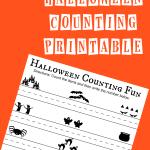 Free Halloween Counting Printable