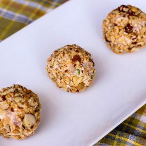Mini Ham & Cheese Balls Appetizer
