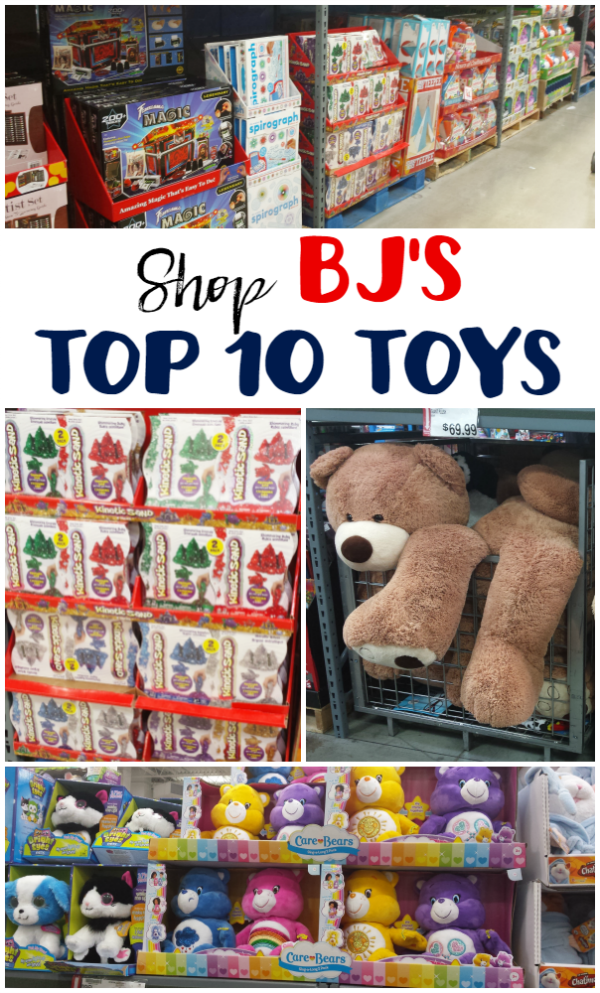 Shopping BJ's Top 10 Toys