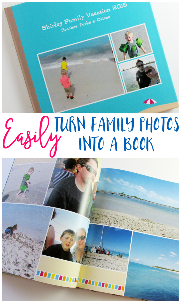 Easily Turn Family Photos into a Book