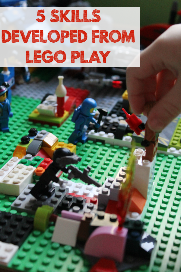 5 Skills That Can Be Developed from LEGO Play