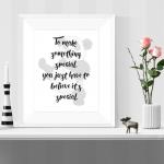 Printable Kung Fu Panda Inspirational Quote