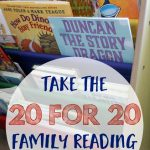 Take the 20 for 20 Family Reading Challenge