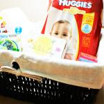 Diaper Changing Basket