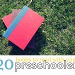 Summer Reading List for Preschoolers