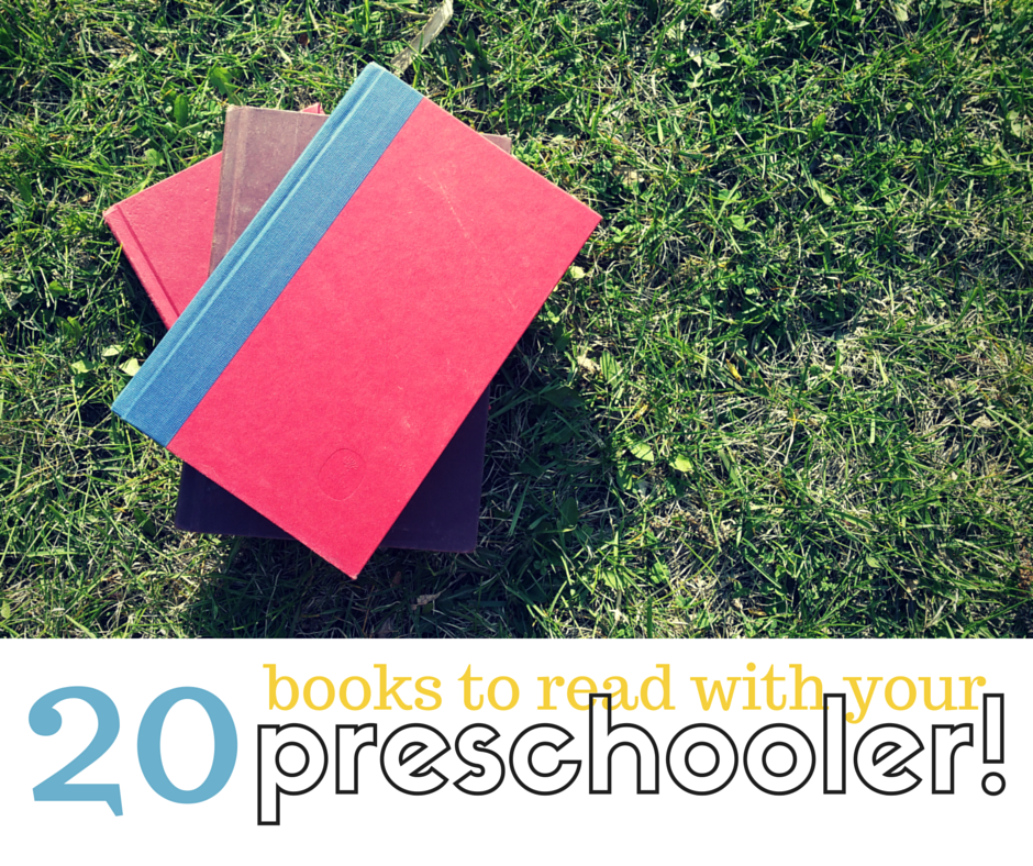 Summer Reading List for Preschoolers
