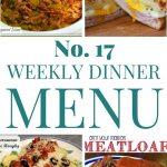 Weekly Dinner Menu #17