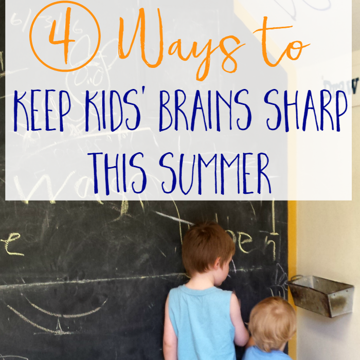 4 Ways to Keep Kids' Brains Sharp Over the Summer