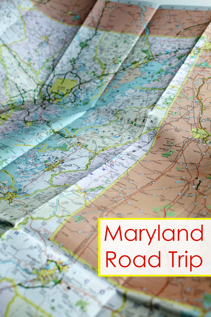Family Road Trip Across Maryland