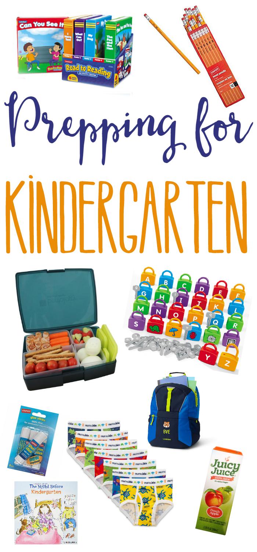 Prepping for Kindergarten