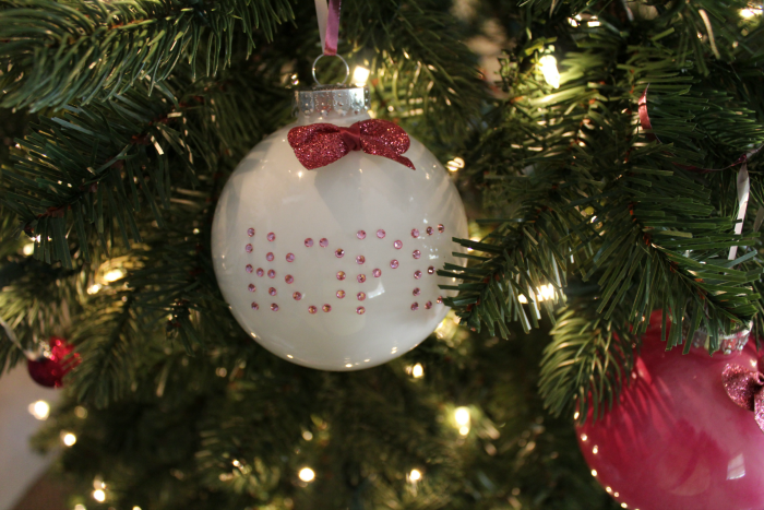 Breast Cancer Awareness Christmas Ornaments