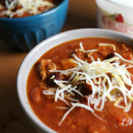 How to Throw a Football Party on a Budget + Slow Cooker Chili Recipe