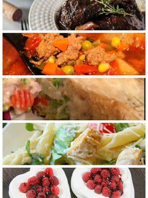 Easy Weekly Meal Plan #6