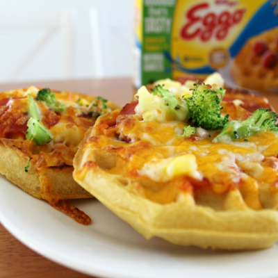 Waffle Crust Pizzas