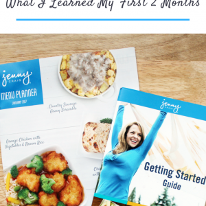 What I Learned My First 2 Months on Jenny Craig