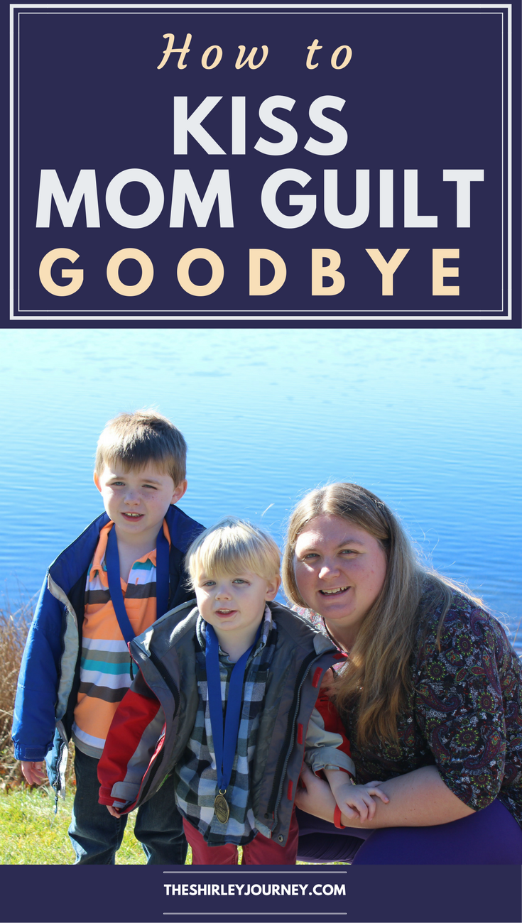 Kiss that mom guilt goodbye! Every mom feels it and needs to know that you are enough and are doing enough.