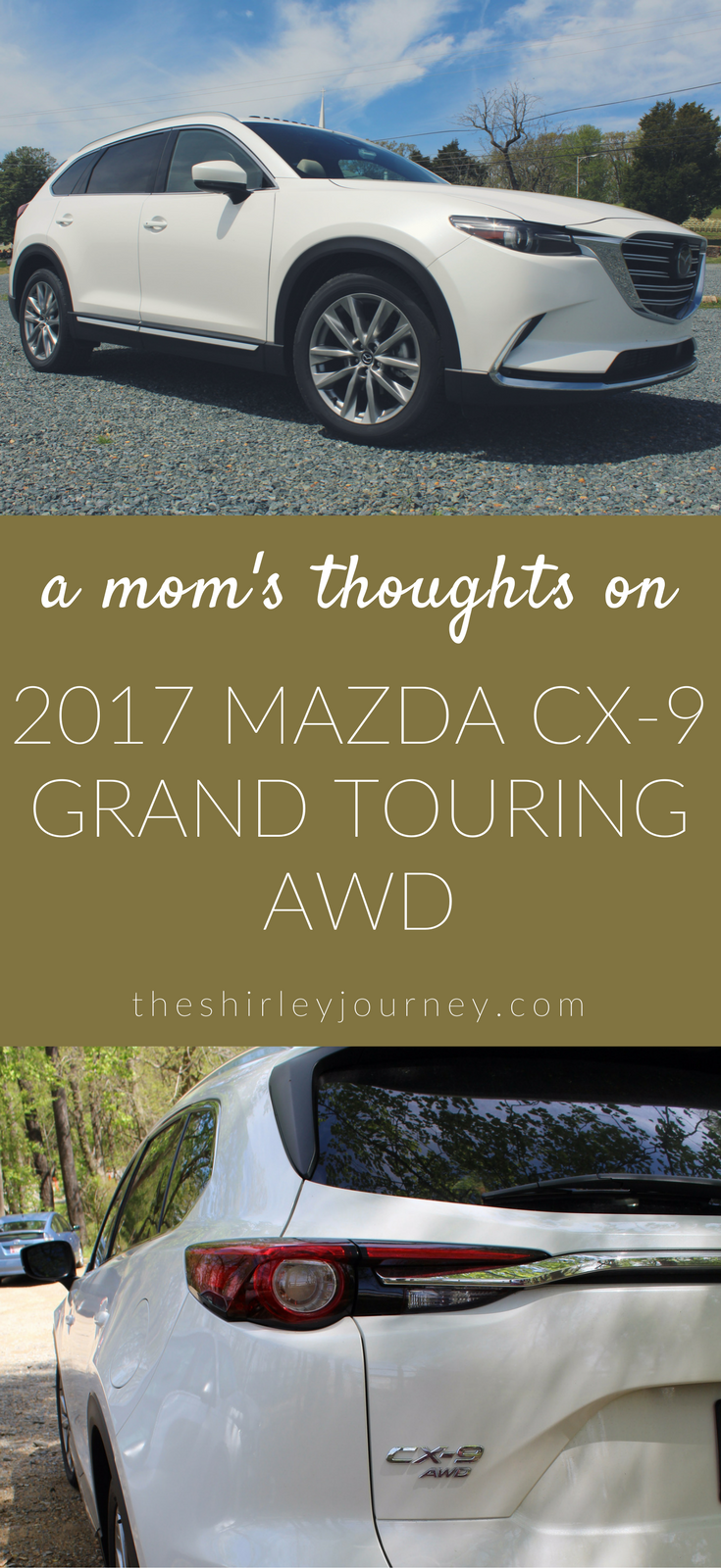 See what a mom of two little ones thinks about the 2017 Mazda CX-9 Grand Touring AWD.