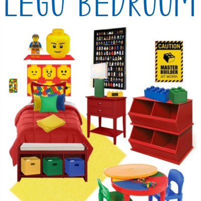 How to Create the Coolest LEGO Bedroom