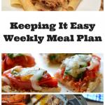 Easy Weekly Meal Plan #23