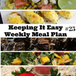 Easy Weekly Meal Plan #25