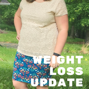 Weight Loss Update: 5 Months on Jenny Craig