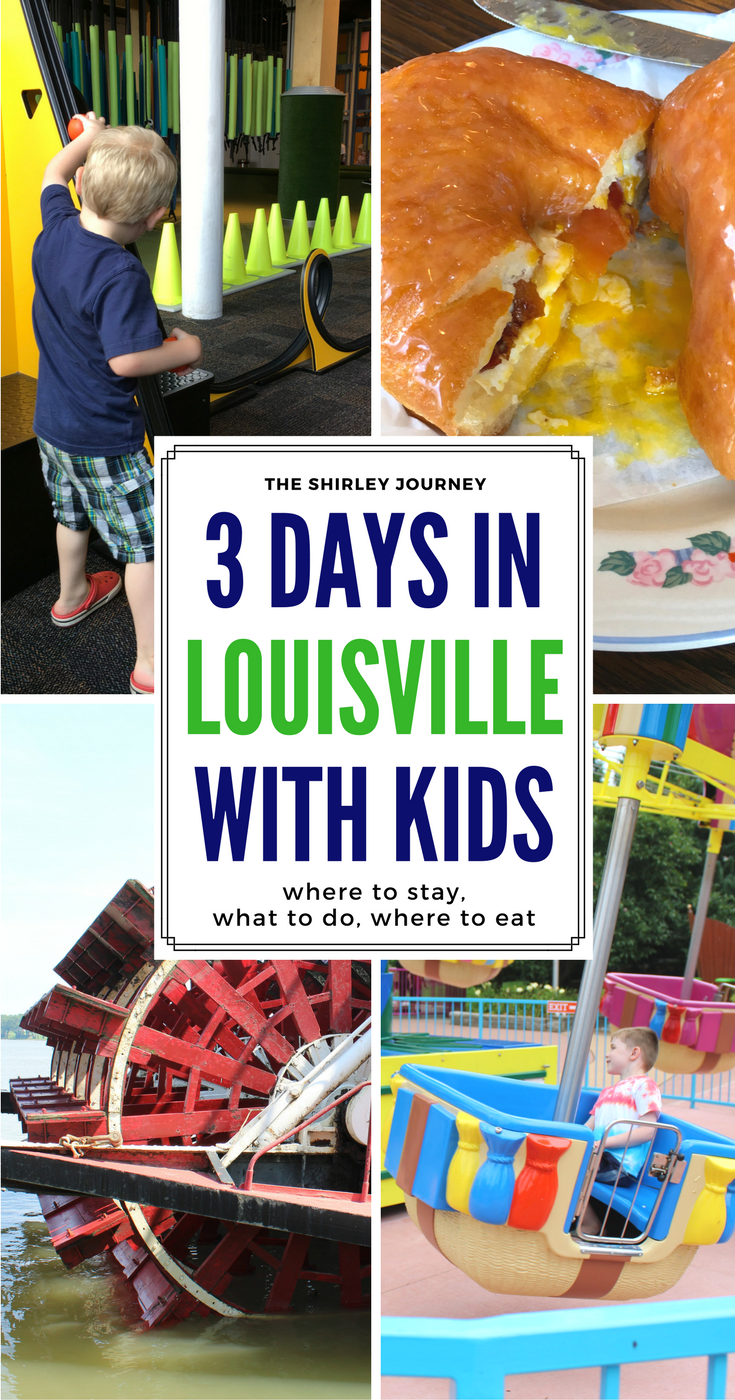 This mom of two little boys shares about their 3 day trip to Louisville, KY. There are a ton of fun things for kids to do in Louisville.