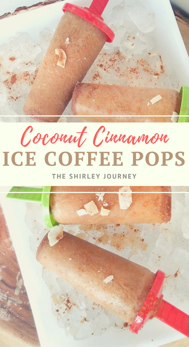 Coconut Cinnamon Ice Coffee Pops are the delicious frozen treat that mom needs!