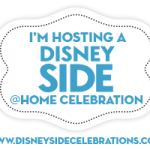 Disney Side @Home Celebration!