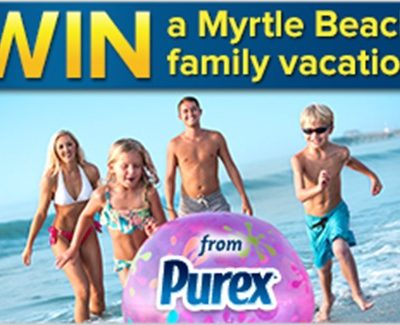 Start Summer Early & Win a Family Vacation from Purex