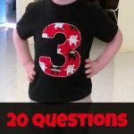 20 Questions: Charlie is 3 Years Old